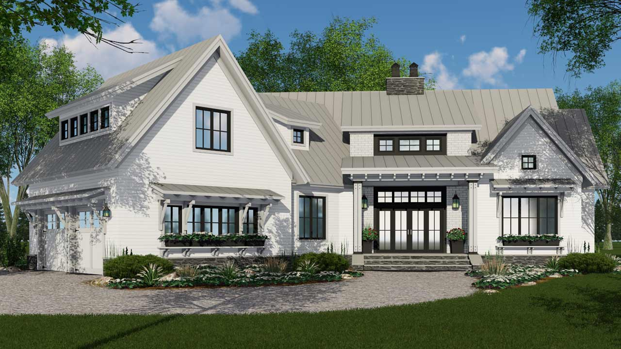 The Benefits of Modern Farmhouse Plans